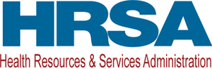 HRSA:  Health Resources Services Administration logo